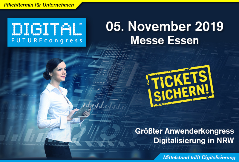 DIGITAL FUTUREcongress - Tickets sichern